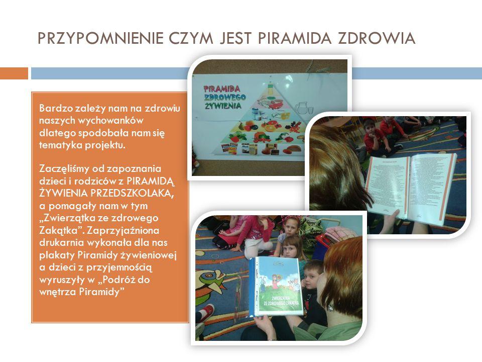 Zabawy komputerowe Ciekawa gra dydaktyczna pozwoliła dzieciom uporządkować zdobyta wiedzę i udowodnić, że znają zdrową żywność oo