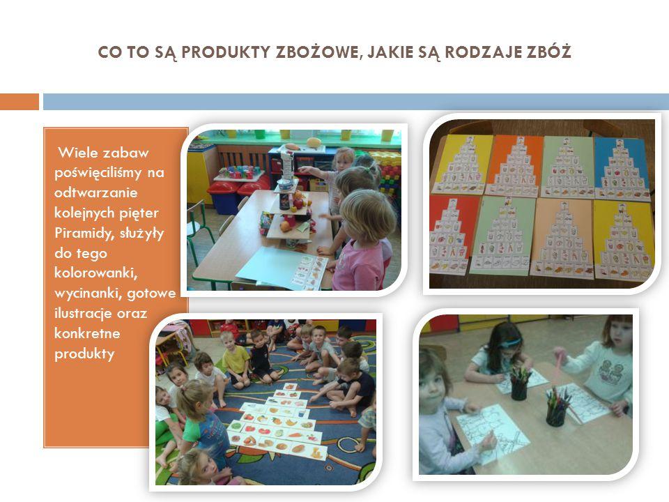 MAKARON Na podstawie przyniesionego do przedszkola makaronu, dzieci mogły zauważyć jak różne są jego rodzaje.