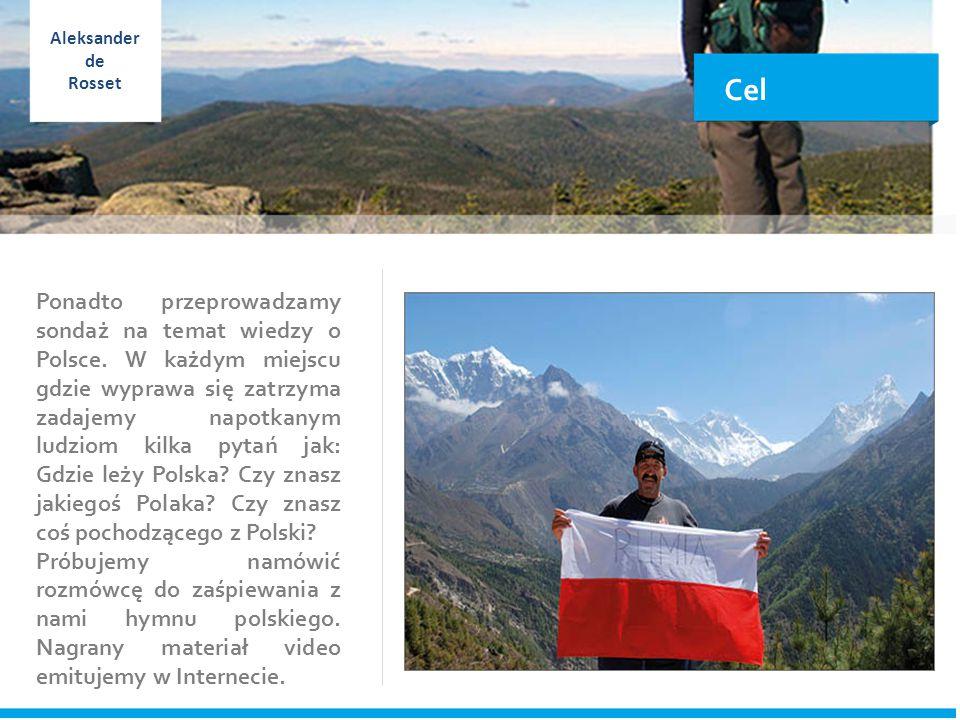 Cel Ponadto przeprowadzamy sondaż na temat wiedzy o Polsce.