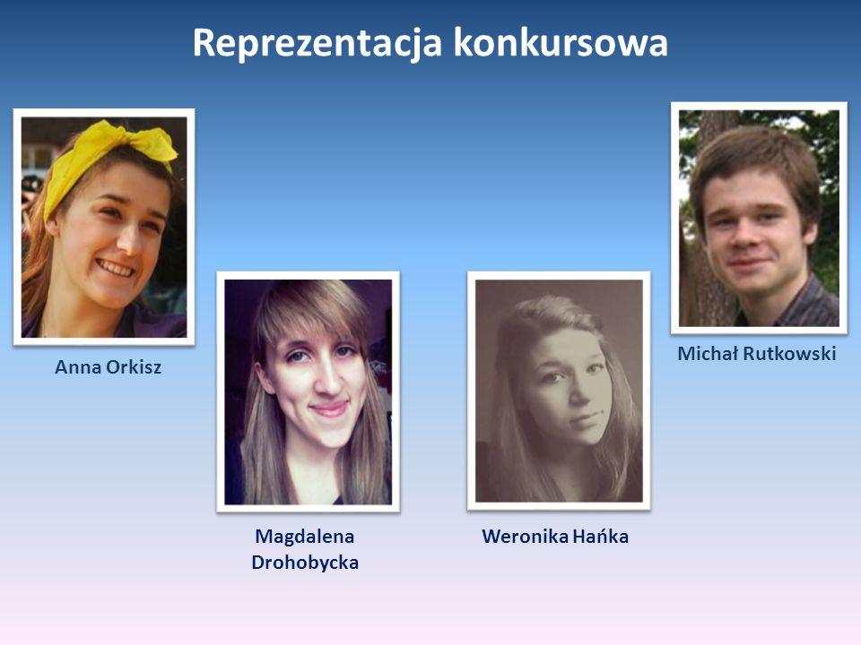 Anna Orkisz Magdalena Drohobycka Weronika Hańka Michał Rutkowski Reprezentacja konkursowa