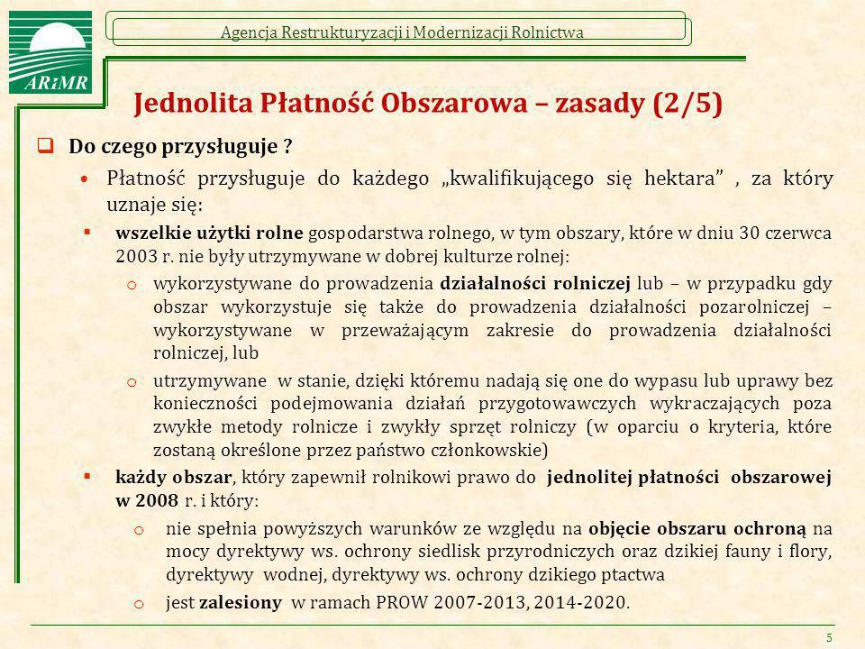 Agencja Restrukturyzacji i Modernizacji Rolnictwa Rolnik aktywny zawodowo (wprowadzenie)  Zasada działania definicji: Zasada ta sprowadzać się będzie do tego, że rolnik, który nie spełni wymogów określonych w definicji zostanie wykluczony w danym roku z wszystkich płatności bezpośrednich, a w przypadku niektórych działań PROW 2014-2020 uznany zostanie za rolnika nie spełniającego kryteriów kwalifikowalności lub warunków otrzymania wsparcia.