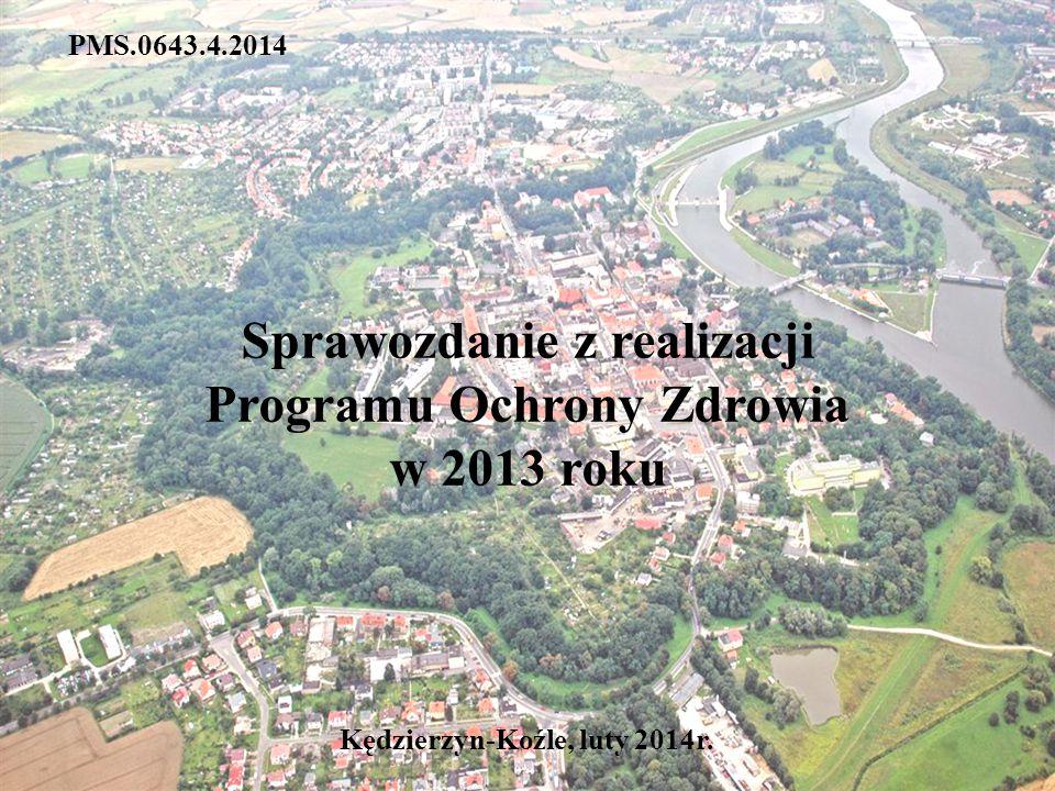 PMS.0643.4.2014 Sprawozdanie z realizacji Programu Ochrony Zdrowia w 2013 roku Kędzierzyn-Koźle, luty 2014r.