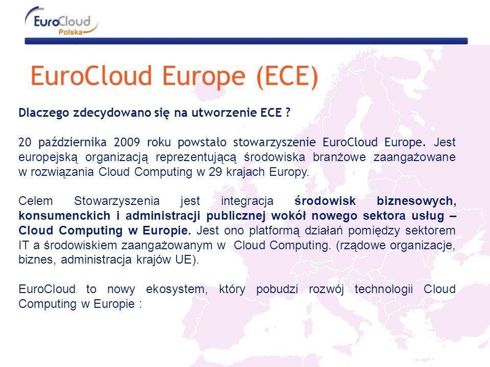 EuroCloud Europe (ECE) Dlaczego zdecydowano się na utworzenie ECE .