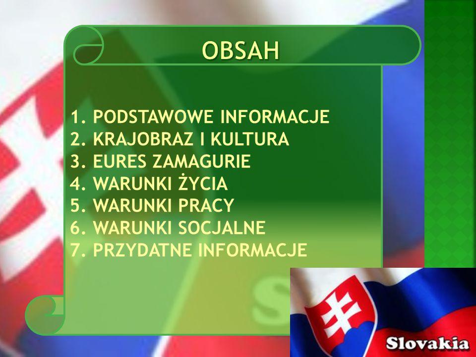 Słowacja sąsiaduje na zachodzie z Republiką Czeską i Austrią, na północy z Polską, na wschodzie z Ukrainą, a na południu z Węgrami.