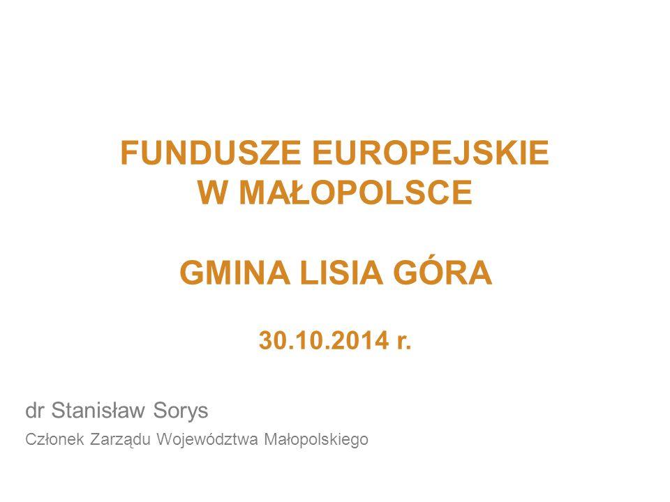 Małopolski Regionalny Program Operacyjny na lata 2007-2013 z wyłączeniem Osi Priorytetowej II