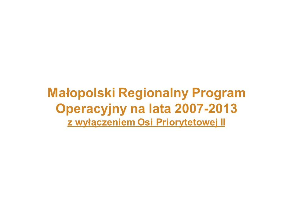 Wsparcie finansowe MRPO 2007-2013 na terenie Gminy Lisia Góra 3 Dofinansowano 5 projektów Łączna wartość udzielonego wsparcia wyniosła 5 792 164,03 zł