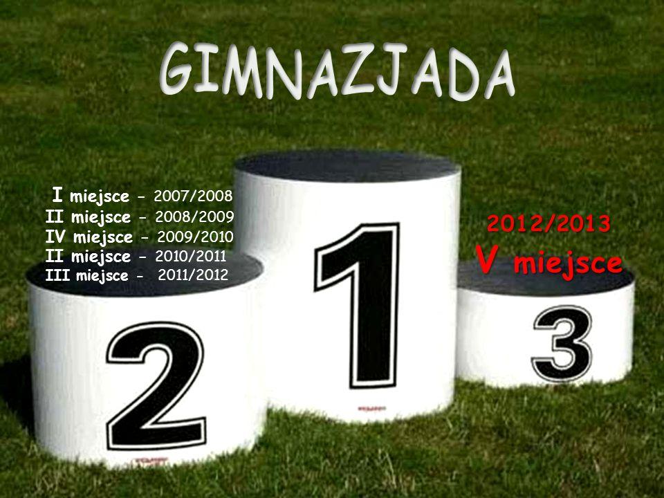 I miejsce - 2007/2008 II miejsce - 2008/2009 IV miejsce - 2009/2010 II miejsce - 2010/2011 III miejsce - 2011/2012