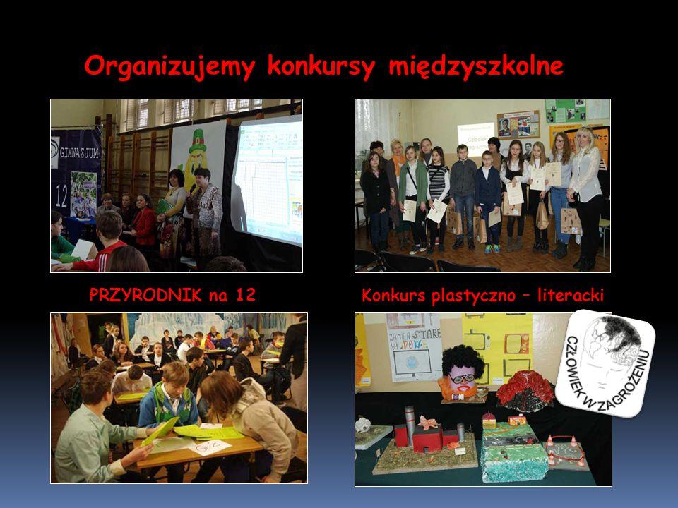 Organizujemy konkursy międzyszkolne PRZYRODNIK na 12 Konkurs plastyczno – literacki