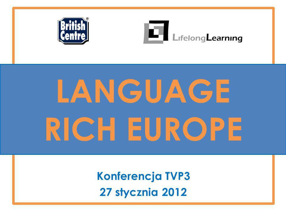 Konferencja TVP3 27 stycznia 2012 LANGUAGE RICH EUROPE