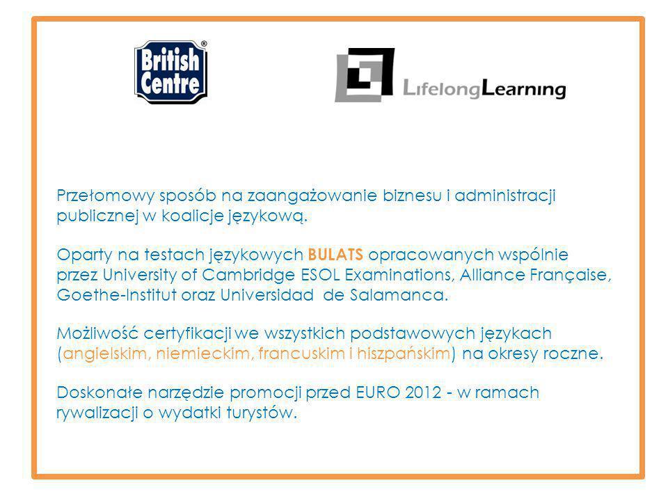Przełomowy sposób na zaangażowanie biznesu i administracji publicznej w koalicje językową.