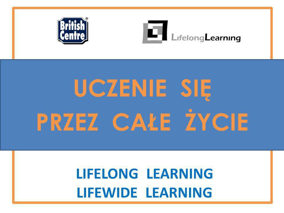 LIFELONG LEARNING LIFEWIDE LEARNING UCZENIE SIĘ PRZEZ CAŁE ŻYCIE