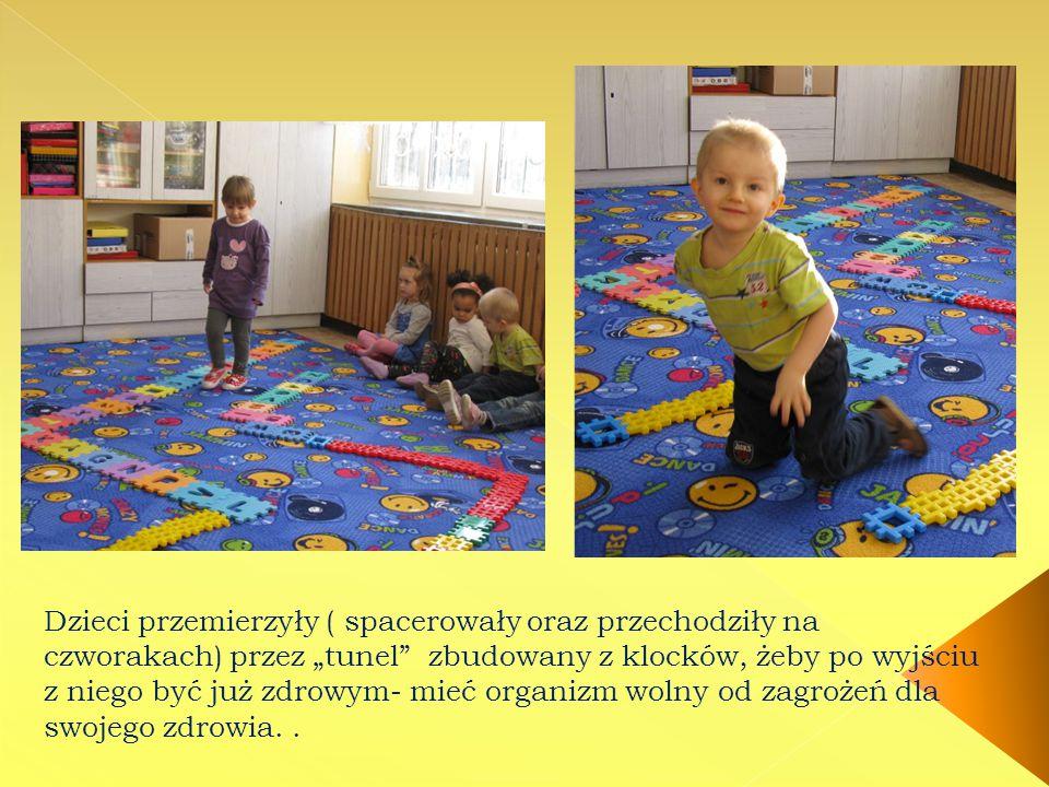 Bakteria, wirus … takie ich wyobrażenie przedstawiły dzieci w swojej pracy konkursowej.