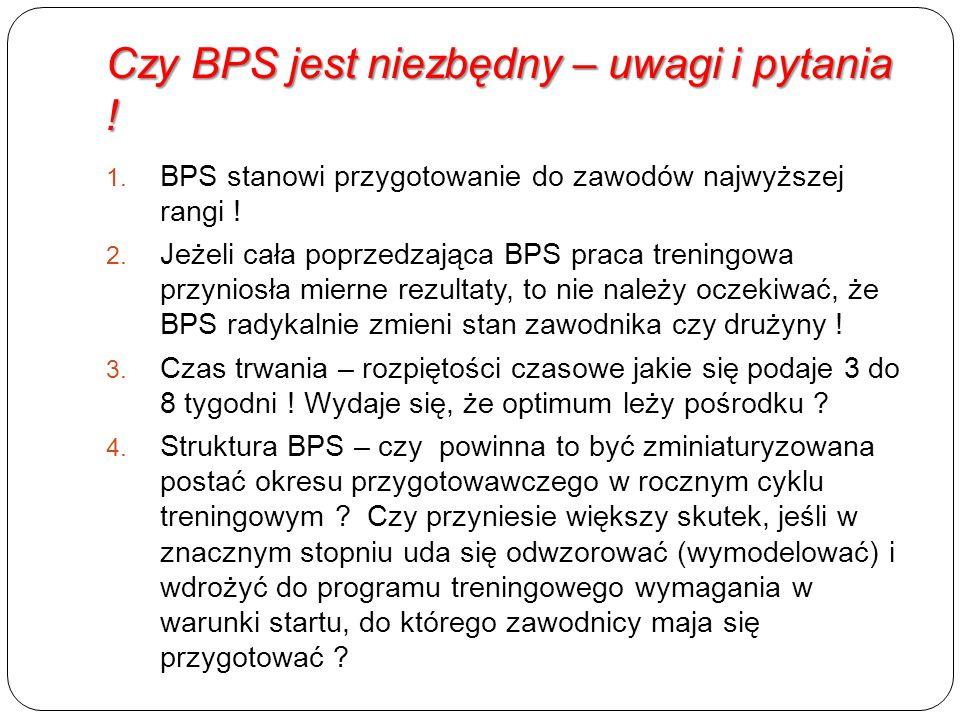 Czy BPS jest niezbędny – uwagi i pytania .