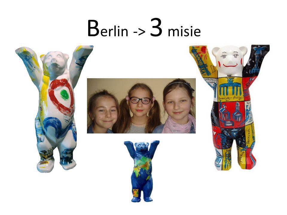 B erlin -> 3 misie