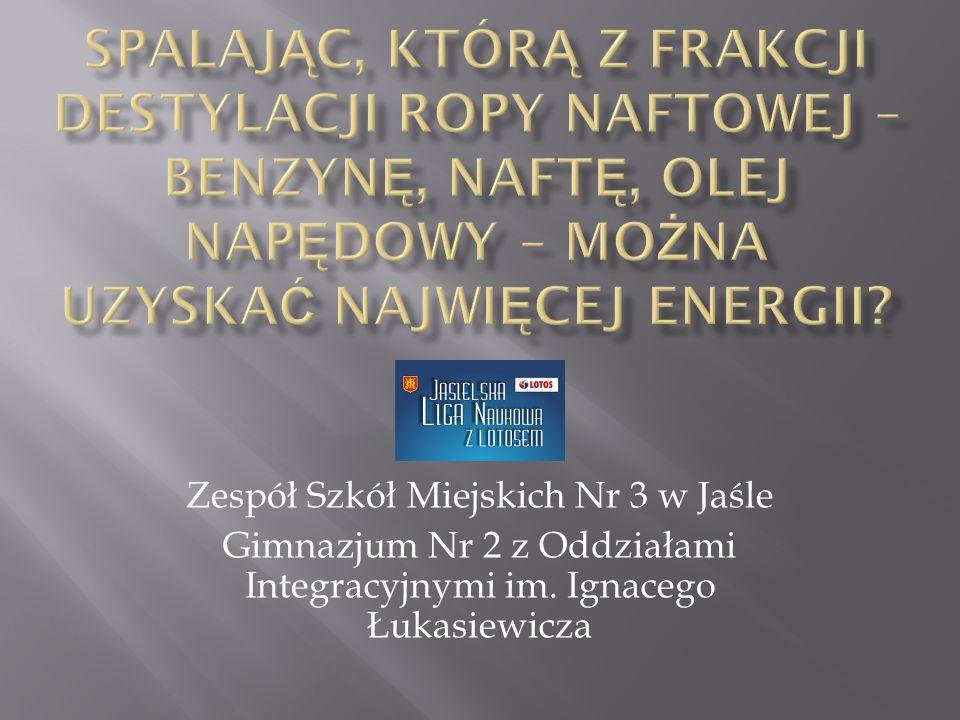 Zespół Szkół Miejskich Nr 3 w Jaśle Gimnazjum Nr 2 z Oddziałami Integracyjnymi im. Ignacego Łukasiewicza
