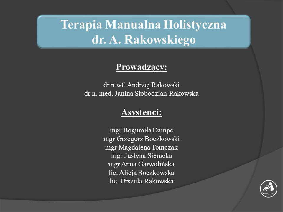Terapia Manualna Holistyczna dr.A.