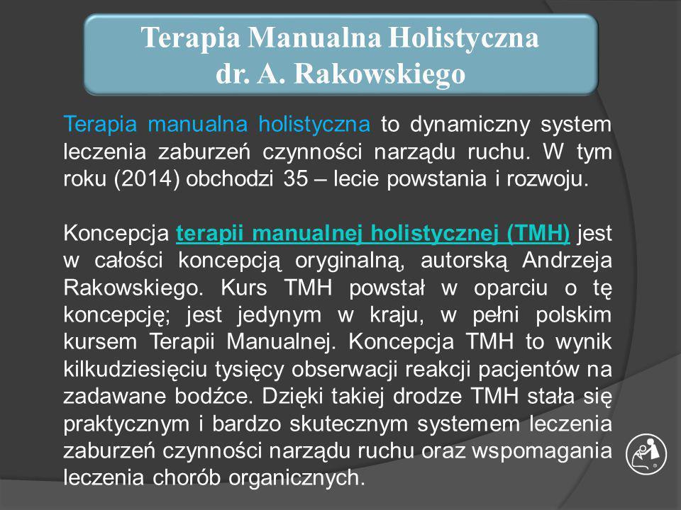 KURS TERAPII MANUALNEJ HOLISTYCZNEJ dr.A.