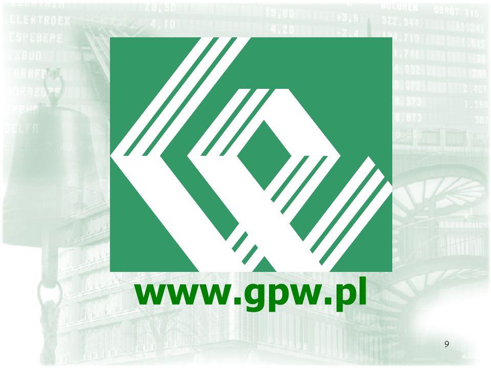 9 www.gpw.pl