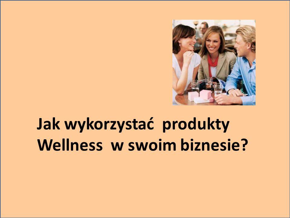Jak wykorzystać produkty Wellness w swoim biznesie?