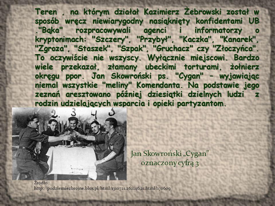 """Syn Kazimierza Żebrowskiego – Jerzy Żebrowski ps.""""Konar (1922 - 1949) W konspiracji od 1941 r."""