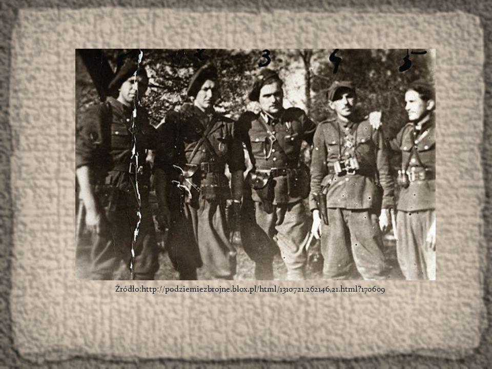 Żołnierze I Brygady Podlaskiej Narodowego Zjednoczenia Wojskowego, maj 1947.
