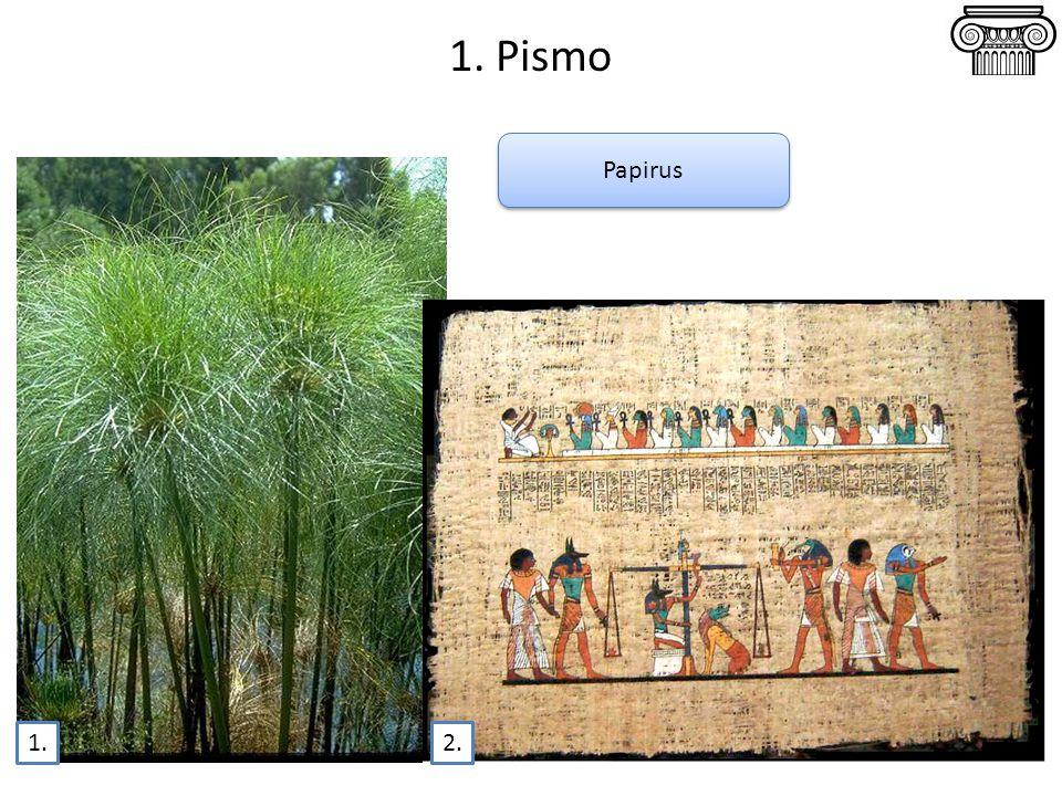1. Pismo Papirus 1.2.