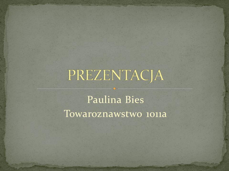 Paulina Bies Towaroznawstwo 1011a
