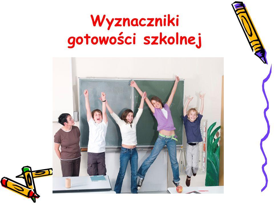 Wyznaczniki gotowości szkolnej