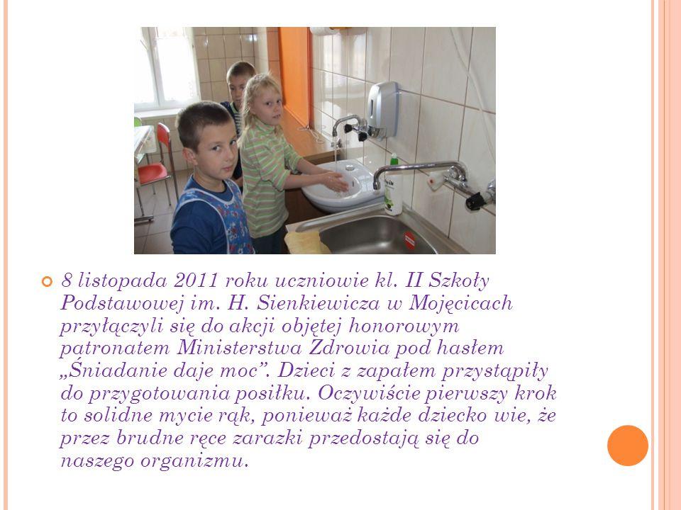 8 listopada 2011 roku uczniowie kl. II Szkoły Podstawowej im.
