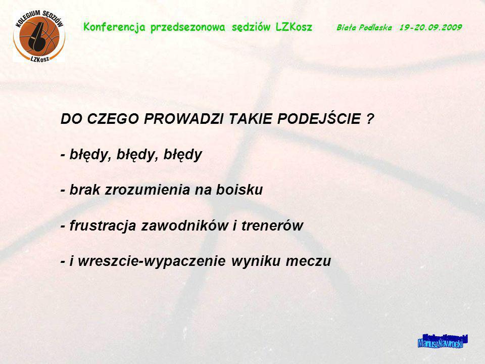 Mariusz Nawrocki DO CZEGO PROWADZI TAKIE PODEJŚCIE ? - błędy, błędy, błędy - brak zrozumienia na boisku - frustracja zawodników i trenerów - i wreszci