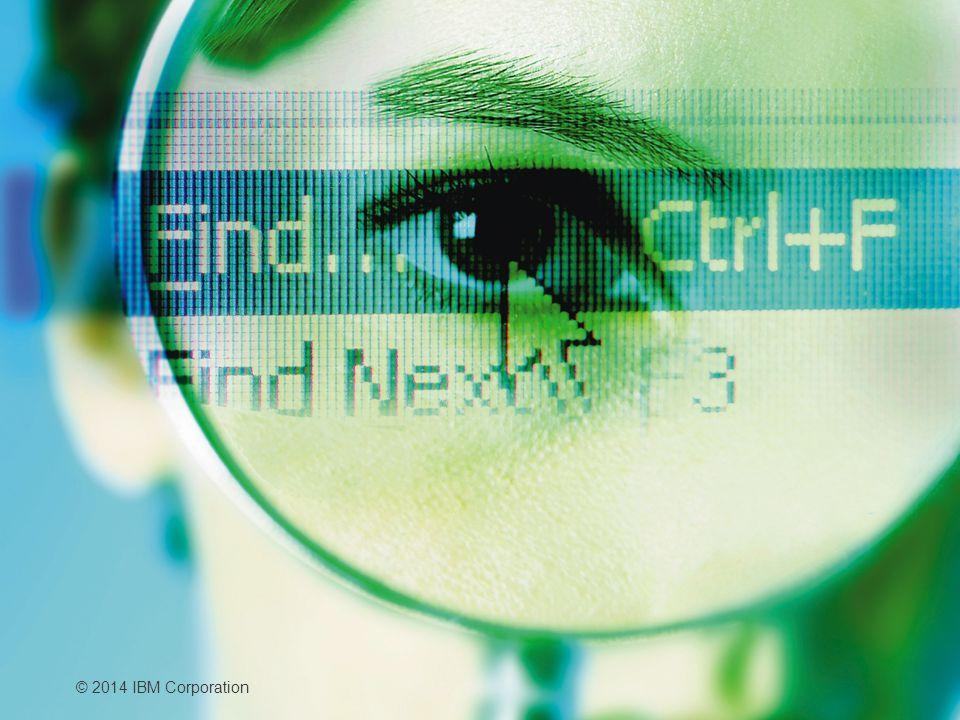 © 2014 IBM Corporation