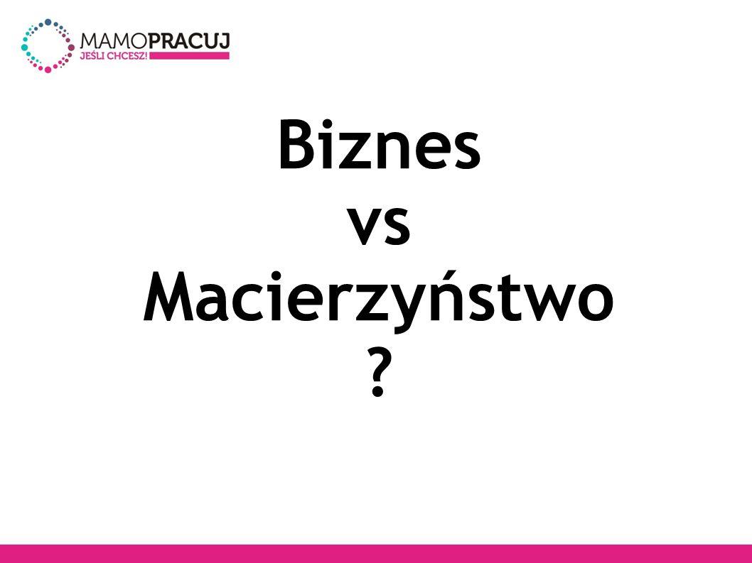 Biznes vs Macierzyństwo
