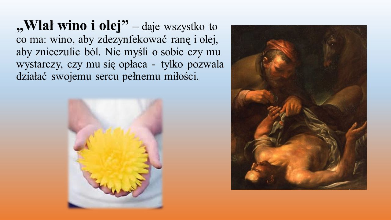 Człowiek miłosierny pozostaje zawsze czujny i zdyscyplinowany po to, by nie utracić otrzymanego daru życia, miłości i wolności.