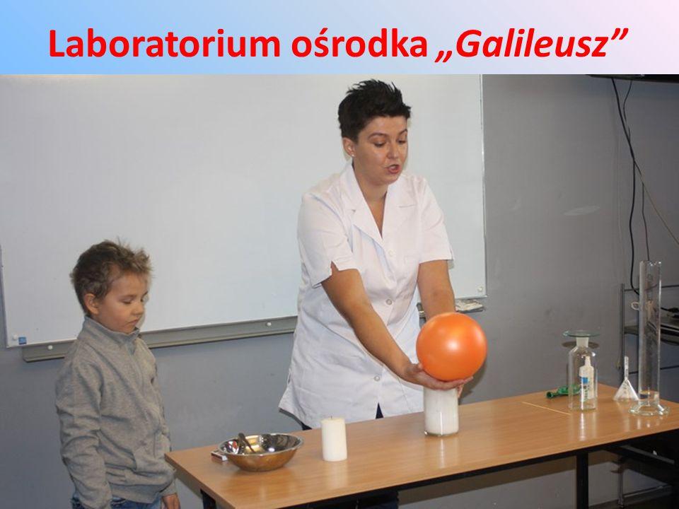 "Laboratorium ośrodka ""Galileusz"