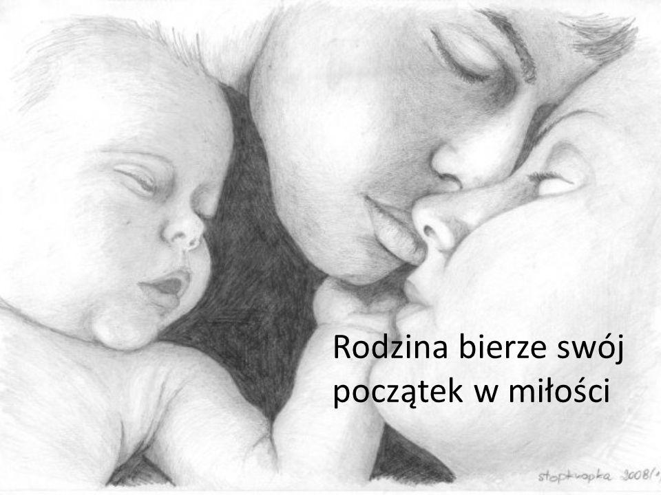 Rodzice są pierwszymi nauczycielami swoich dzieci. Darzą je miłością od chwili poczęcia.