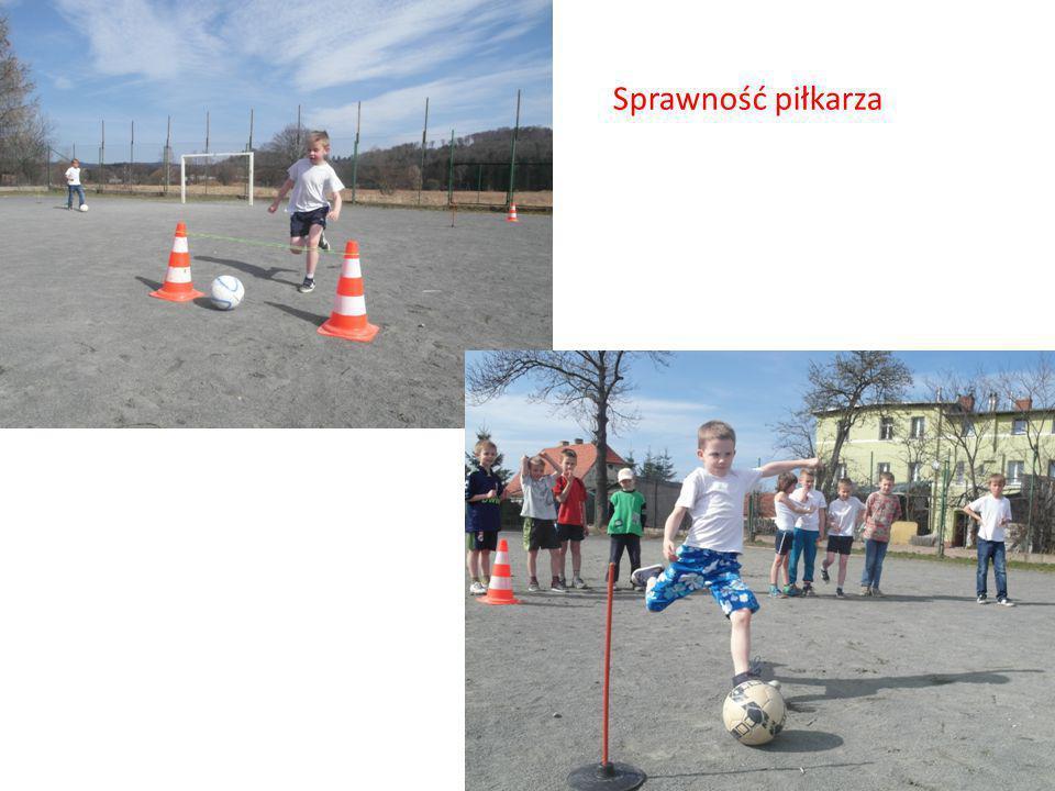 Sprawność piłkarza