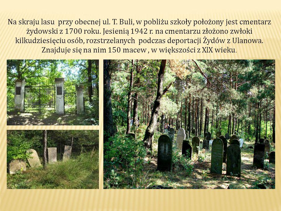 Na skraju lasu przy obecnej ul.T.