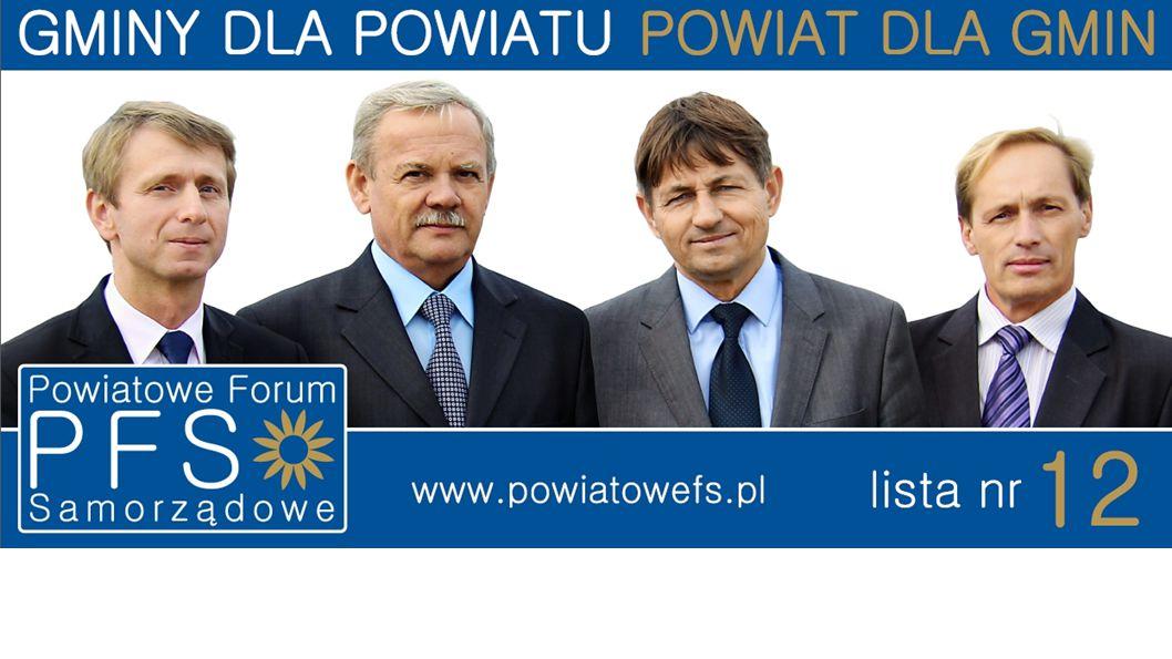 Program wyborczy Kandydaci do rady powiatu okręg nr 3 (gmina Brusy) Program Wyborczy 2014 www.powiatowefs.pl