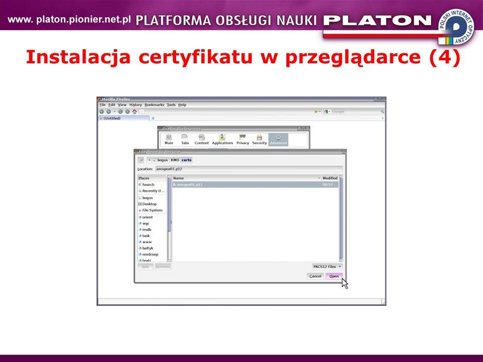 Instalacja certyfikatu w przeglądarce (4)