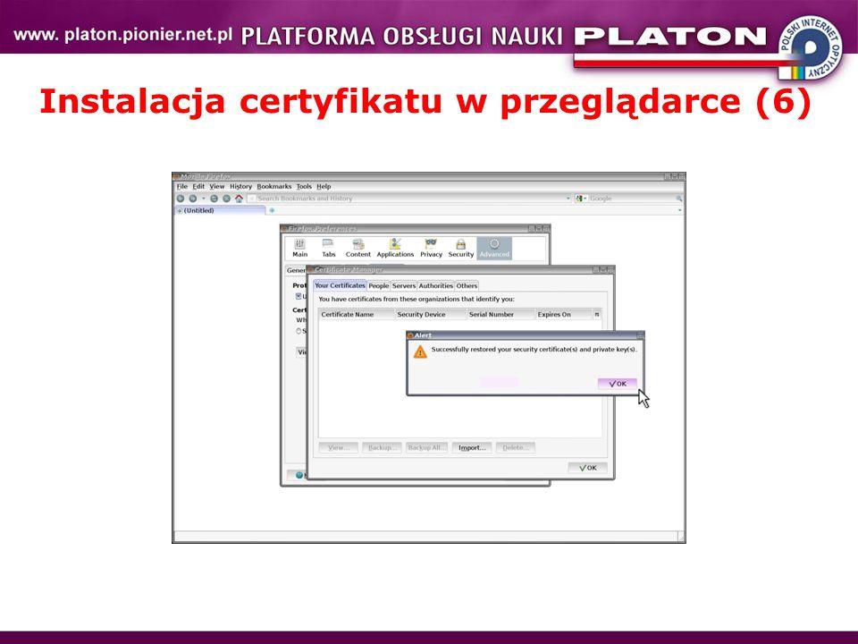 Instalacja certyfikatu w przeglądarce (6)