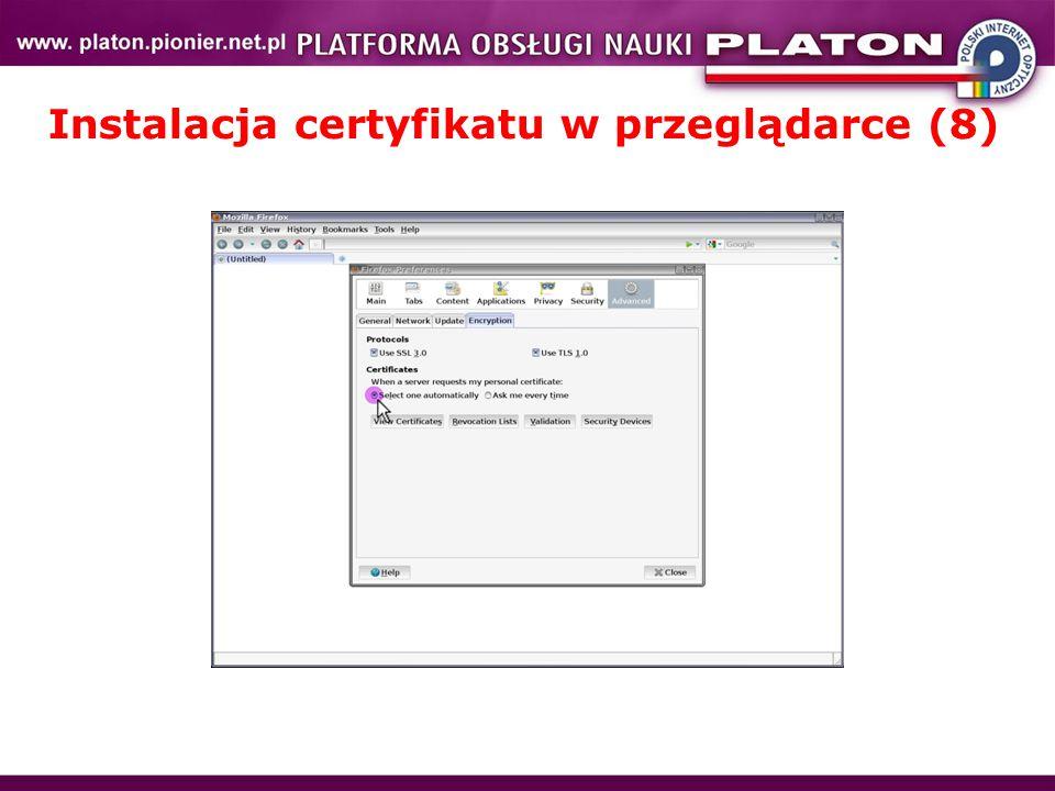 Instalacja certyfikatu w przeglądarce (8)