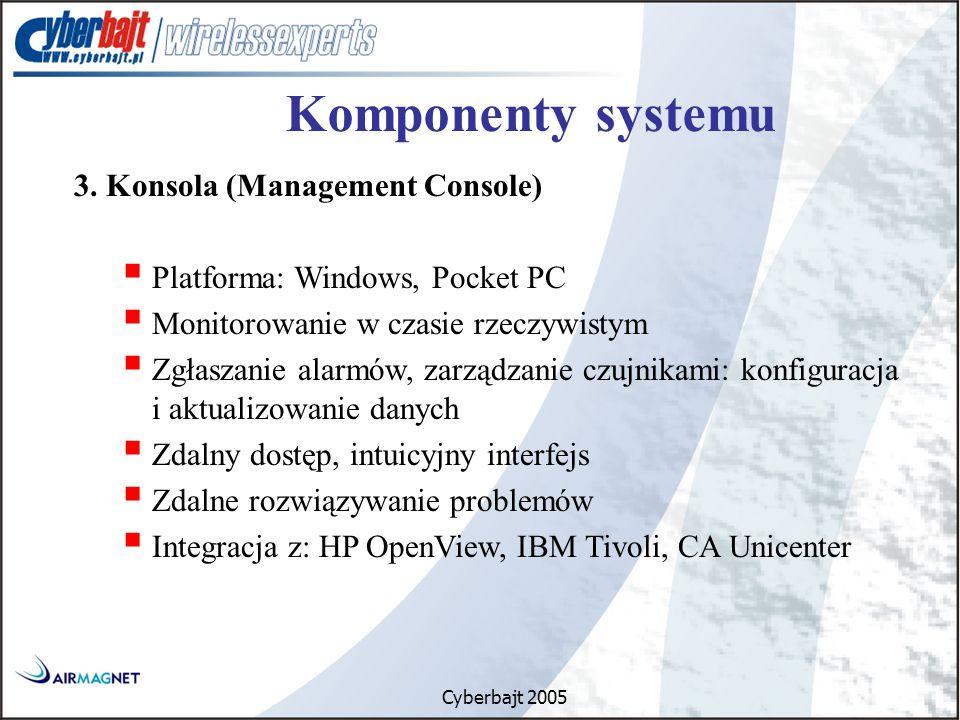 Cyberbajt 2005 Komponenty systemu 3.