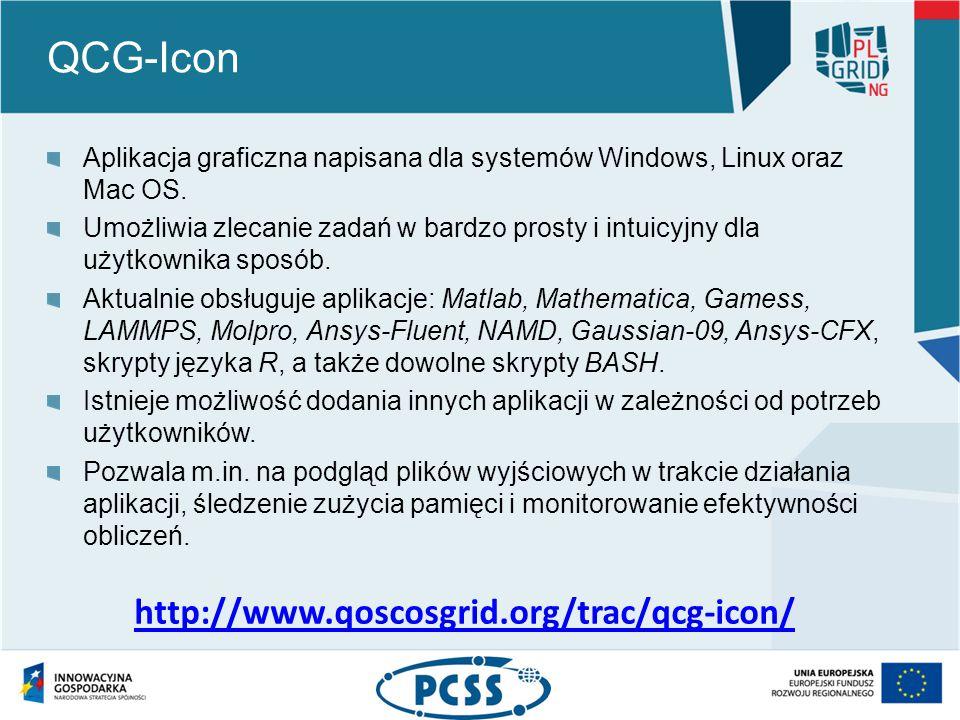 QCG-Icon Aplikacja graficzna napisana dla systemów Windows, Linux oraz Mac OS.