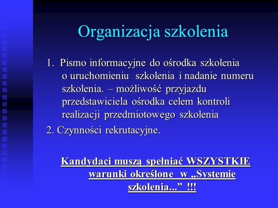 Dokumentacja nauczania c.d. 4. Arkusze egzaminacyjne.