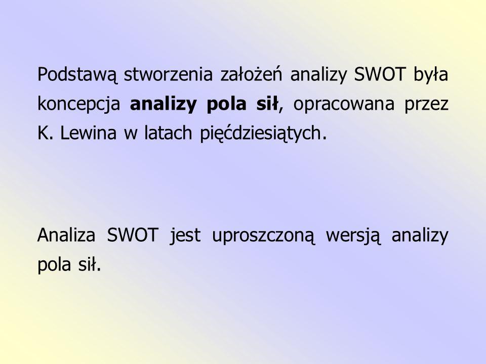 Niekiedy pojawiają się również inne kombinacje tego skrótu: TOWS (H.
