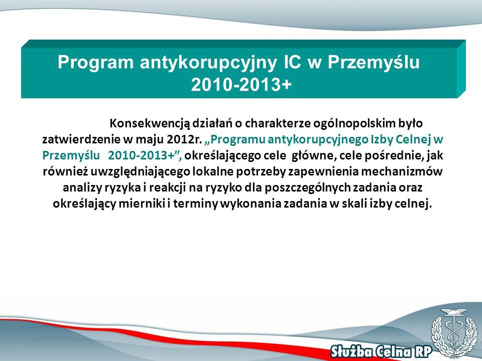 12 Konsekwencją działań o charakterze ogólnopolskim było zatwierdzenie w maju 2012r.