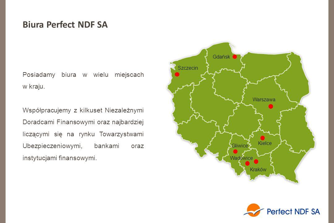 Biura Perfect NDF SA Posiadamy biura w wielu miejscach w kraju.