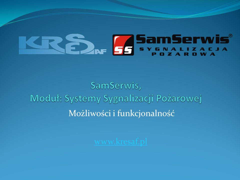 Możliwości i funkcjonalność www.kresaf.pl