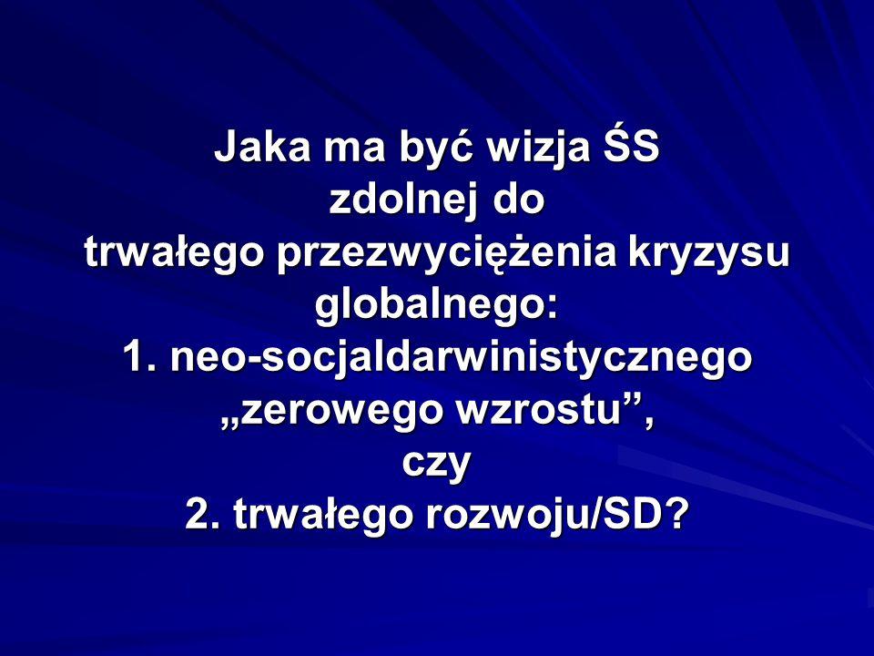 Podstawowe właściwości ŚSSD (2): 2.Edukacja mądrości: 2.1.