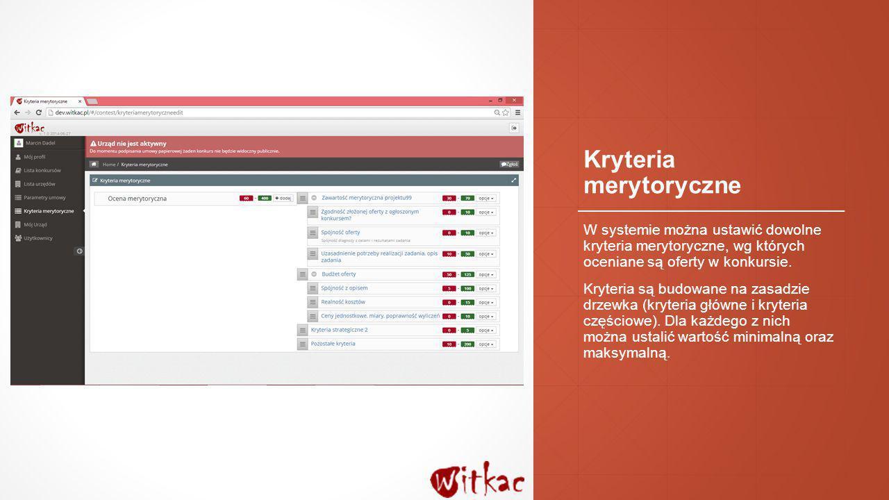 Podsumowanie ▪To tylko wybrane funkcje systemu witkac.pl ▪Jeżeli jesteście Państwo zainteresowani współpracą z nami – zapraszamy do kontaktu: biuro@witkac.plbiuro@witkac.pl